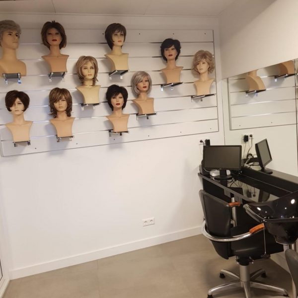 Haarwerkspecialist werkruimte